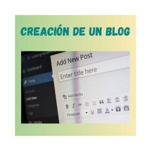crear un blog para clase