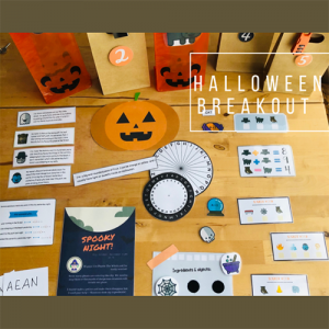 Tag Halloween Breakout