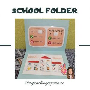 Tag School folder