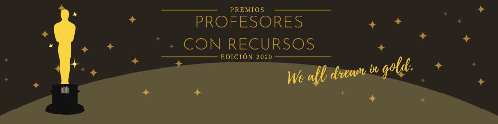 Cabecera Premios profesores con recursos